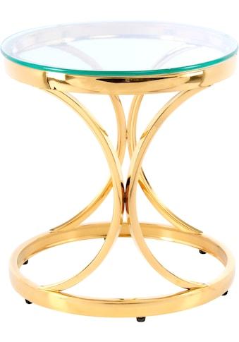 Kayoom Beistelltisch »Beistelltisch Weyda 125«, filigranes Design kaufen