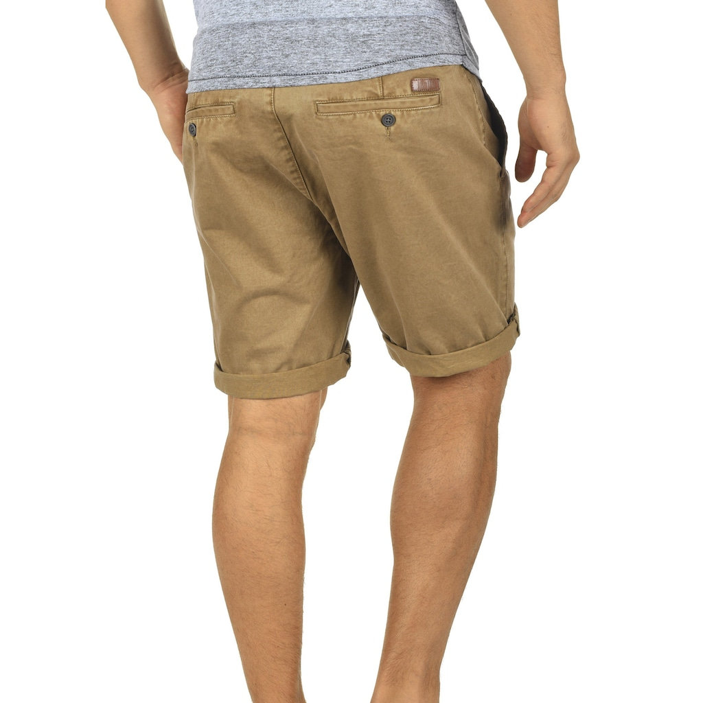 Solid Chinoshorts »Pinhel«, kurze Hose mit knöpfbarer Gesäßtasche