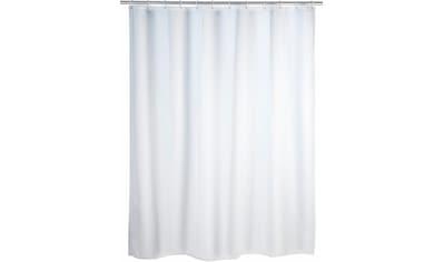 WENKO Duschvorhang »Uni White«, Polyester, 180 x 200 cm, waschbar kaufen
