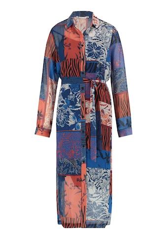 Loom&Lace Chiffonkleid mit modischem Patchwork-Print kaufen