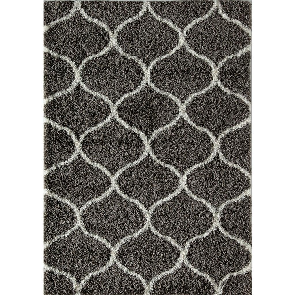 CosmoLiving by Cosmopolitan Teppich »Feather Shag«, rechteckig, 48 mm Höhe, Wohnzimmer