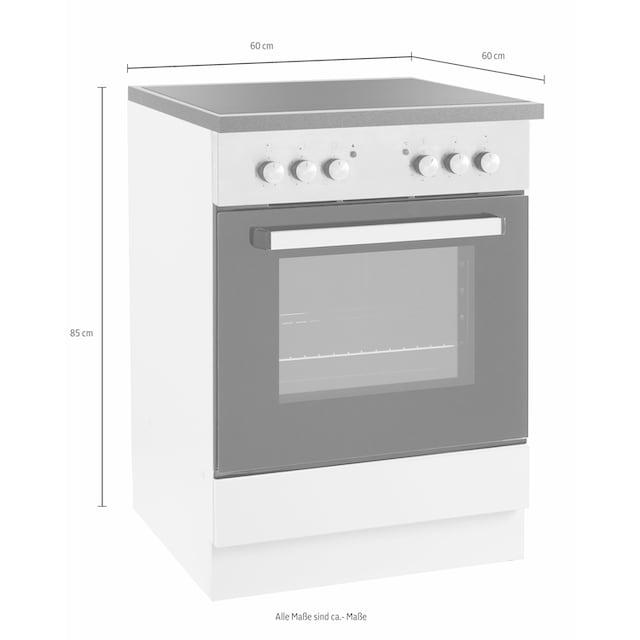 wiho Küchen Herdumbauschrank »Amrum«