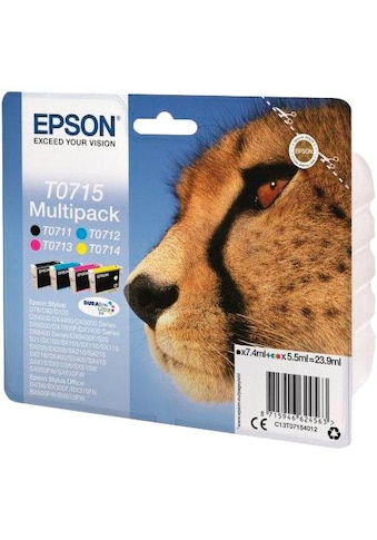 Epson Tintenpatrone »T0715 Original Kombi-Pack (C13T07154012)« kaufen