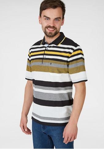 NAVIGAZIONE Poloshirt mit Farbhighlights kaufen