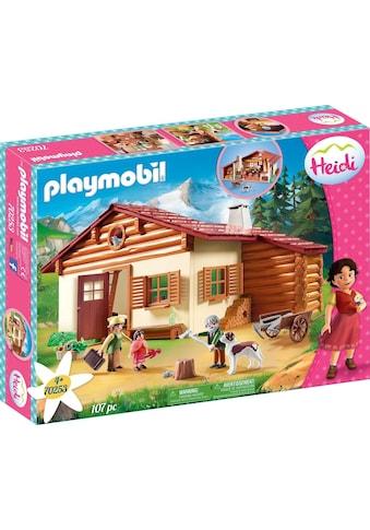 Playmobil® Konstruktions-Spielset »Heidi und Großvater auf der Almhütte (70253),... kaufen