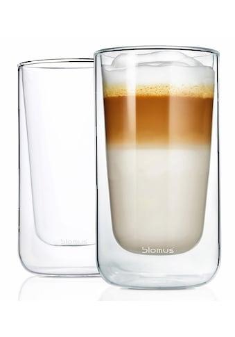 BLOMUS Thermoglas »NERO«, (Set, 2 tlg.), Doppelwandig, Inhalt 320 ml kaufen