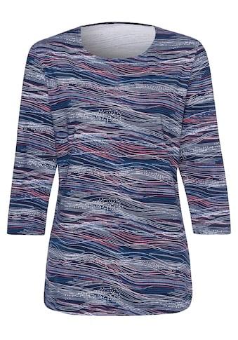 Classic Basics Shirt mit Wellenmuster kaufen