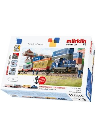 Märklin Modelleisenbahn-Set »Märklin Start up - Containerzug - 29453«, Für Einsteiger,... kaufen