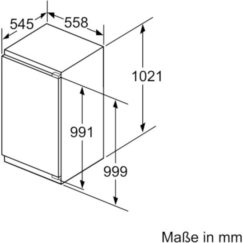 BOSCH Einbaukühlschrank »KIR31AFF0«, 6