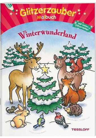 Buch Glitzerzauber Malbuch Winterwunderland / Marion Durczok kaufen