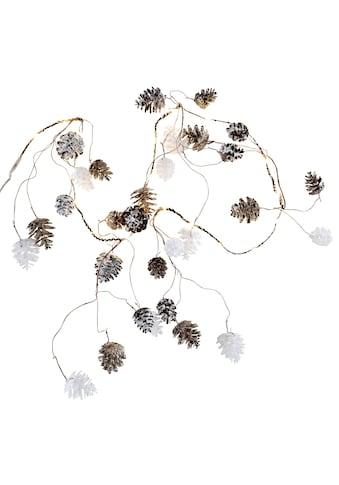 CHRISTMAS GOODS by Inge LED - Lichterkette »Zapfen« kaufen