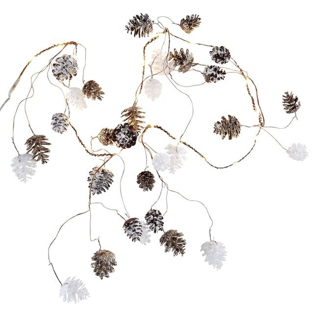 CHRISTMAS GOODS by Inge LED-Lichterkette »Zapfen«