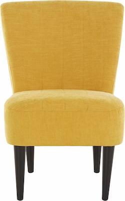 gelber Cocktailsessel