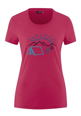Maier Sports Funktionsshirt »Waltraut Print«, Funktional vielseitiges T-Shirt mit... kaufen