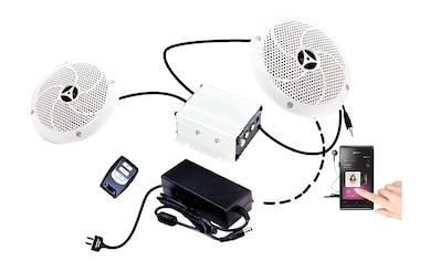 KARIBU Lautsprecher »Premium«, 2 Stück inkl. Verstärker kaufen