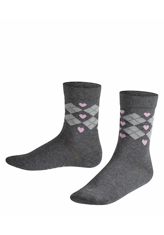 FALKE Socken Hearts Argyle (1 Paar) kaufen