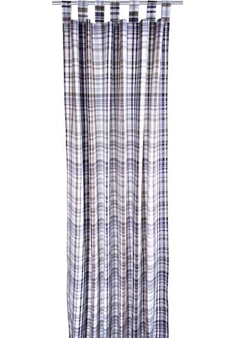 Vorhang, »Fine Check«, TOM TAILOR, Schlaufen 1 Stück kaufen