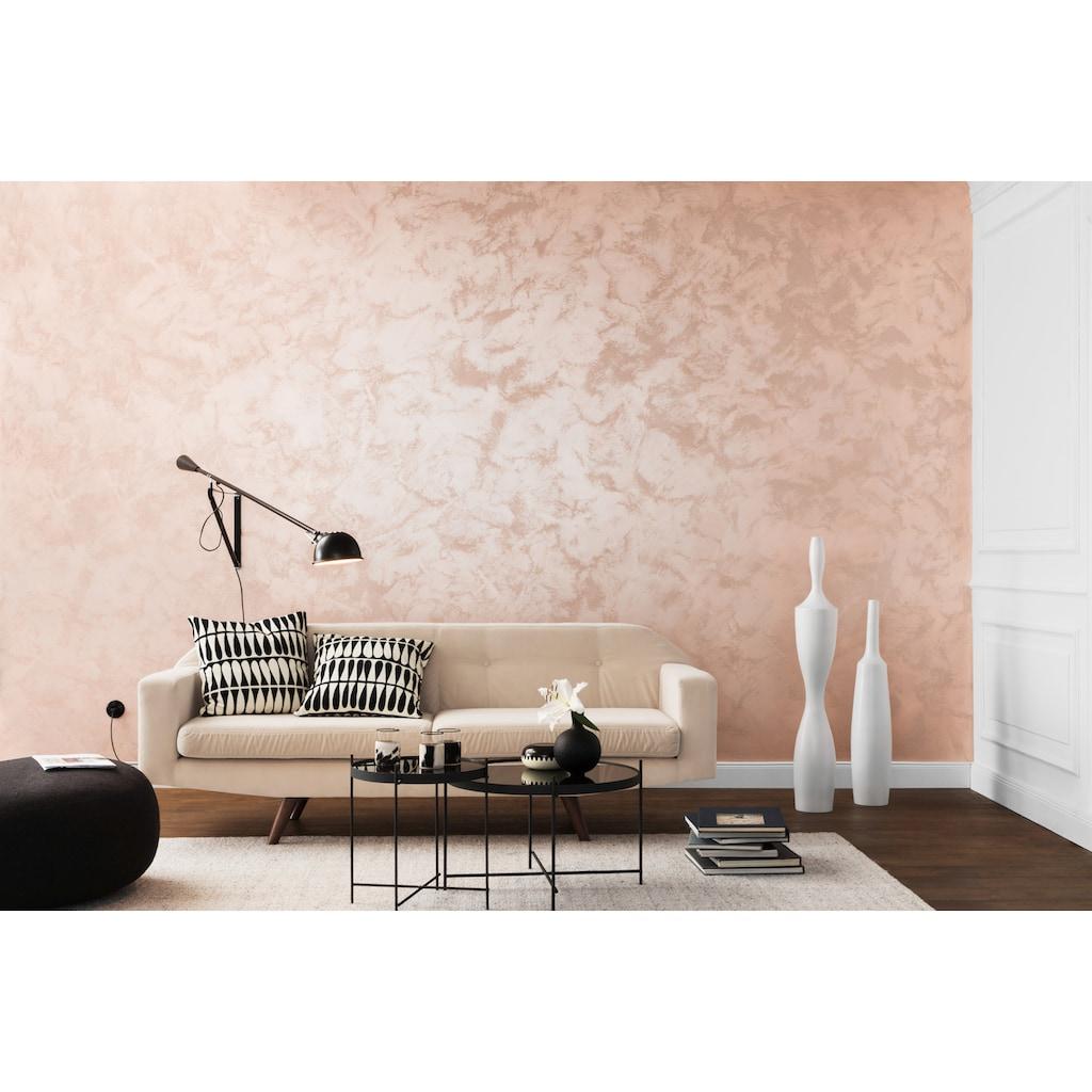 SCHÖNER WOHNEN-Kollektion Wandfarbe »Schimmer-Optik Effektfarbe shiny-rose«, glänzend 2,5 l