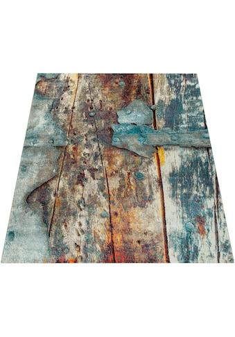 Paco Home Teppich »Natura 850«, rechteckig, 18 mm Höhe, Kurzflor mit kunstvollem... kaufen