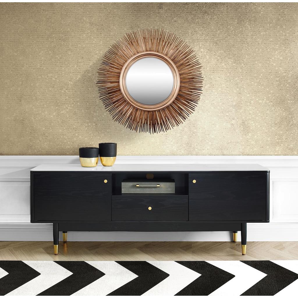 Leonique TV-Board »Lyon«, mit Keramikoberfläche in Marmoroptik und viel Stauraum