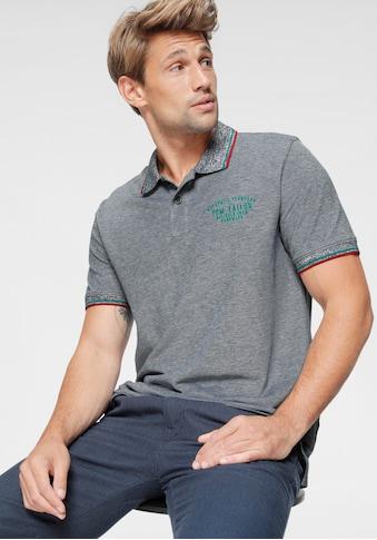 TOM TAILOR Poloshirt, mit Kontrastfarben kaufen