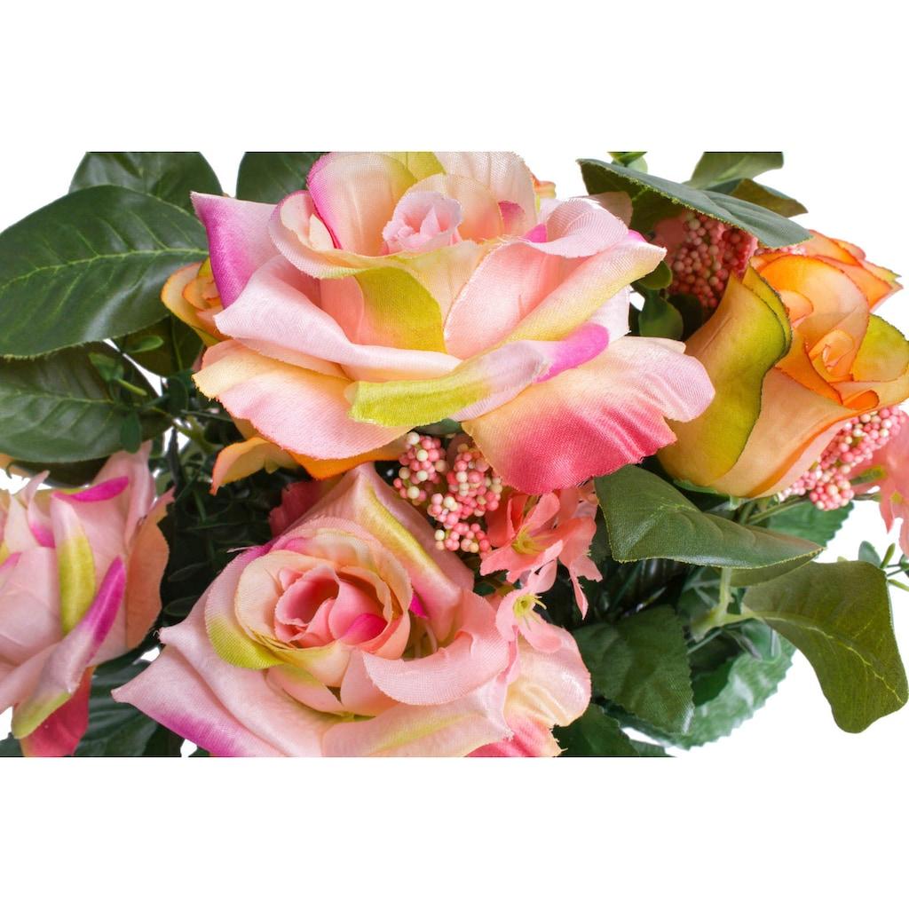 Botanic-Haus Kunstblume »Rosenstrauß«