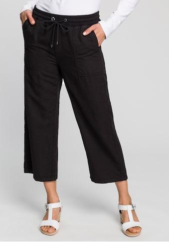 MAC Leinenhose »Culotte«, Gesäßtaschen mit Klappen kaufen