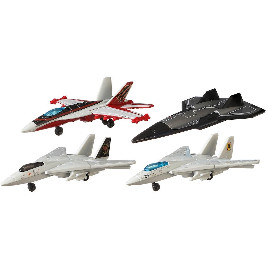 MATCHBOX Spielzeug-Flugzeug »Matchbox Top Gun Skybusters Then & Now«
