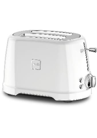NOVIS Toaster »T2 weiss«, 2 kurze Schlitze, 900 W kaufen