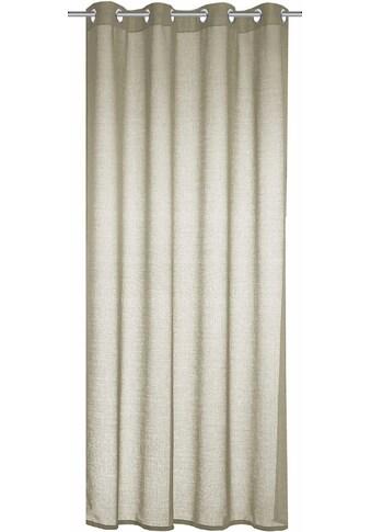 WILLKOMMEN ZUHAUSE by ALBANI GROUP Vorhang »Stuttgart«, HxB: 245x140, Ösenschal kaufen