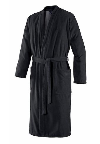 Joop! Herrenbademantel »Uni Kimono«, (1 St.), in extraflauschiger Qualität kaufen
