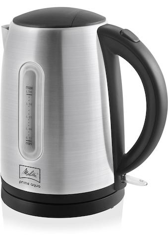 Melitta Wasserkocher, Prime Aqua 1,7l 1018 - 02, 1,7 Liter, 2200 Watt kaufen