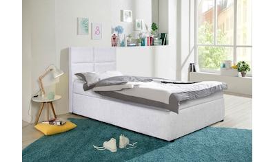 my home Polsterbett »Nela«, incl. Bonnell-Federkernmatratze in Breite 90 cm und 140... kaufen