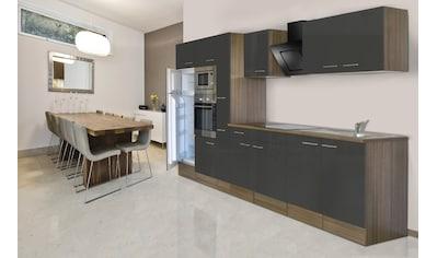 Küchenzeile »York«, mit E - Geräten, Breite 360 cm kaufen