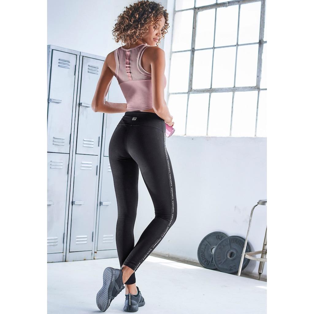 LASCANA ACTIVE Leggings, mit breitem Komfortbund