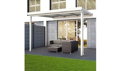 GUTTA Terrassendach »Premium«, BxT: 309x306 cm, Dach Polycarbonat klar kaufen