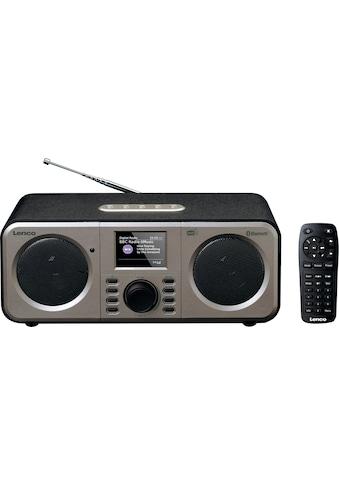 Lenco Digitalradio (DAB+) »DAR-030«, (Bluetooth Digitalradio (DAB+)-FM-Tuner) kaufen