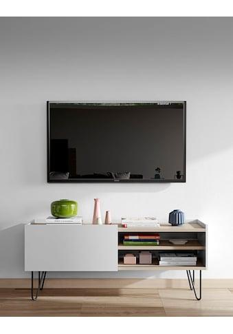 TemaHome Lowboard »Nina«, mit schönen Metallgestell, in zwei unterschiedlichen Farben kaufen