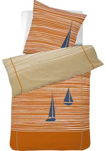 Cinderella Wendebettwäsche »Boats«, mit Segelbooten kaufen