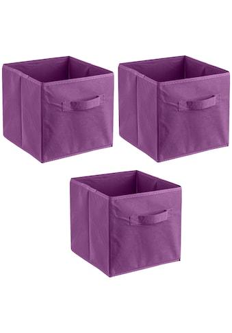 ADOB Aufbewahrungsbox »Faltboxen«, (Set, 3 St.), Inklusive Haltegriff kaufen