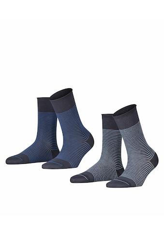 Esprit Socken Fine Stripe 2 - Pack (2 Paar) kaufen
