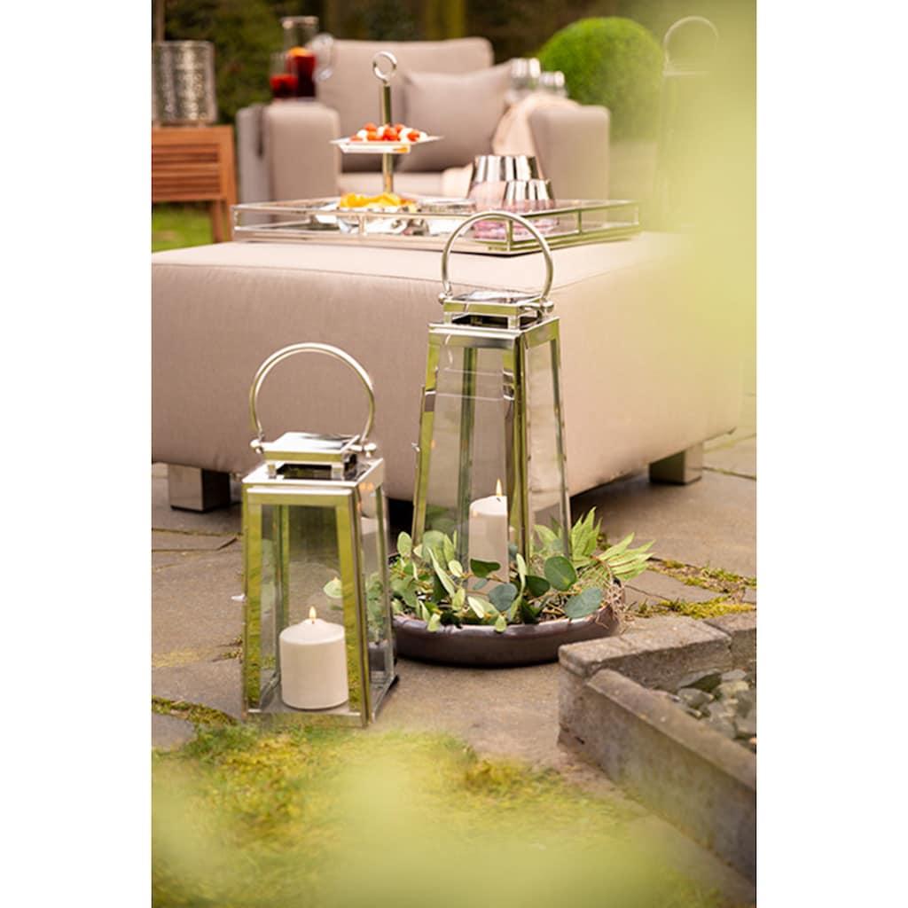 Fink Laterne »MONACO«, aus Edelstahl und Glas