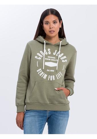 Cross Jeans® Hoodie »65182«, Kängurutasche kaufen
