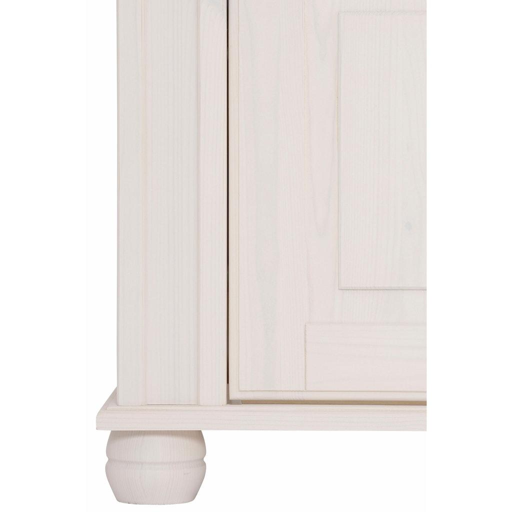 Home affaire Schuhkommode »München«, mit dekorativen Fräsungen, Breite 109 cm