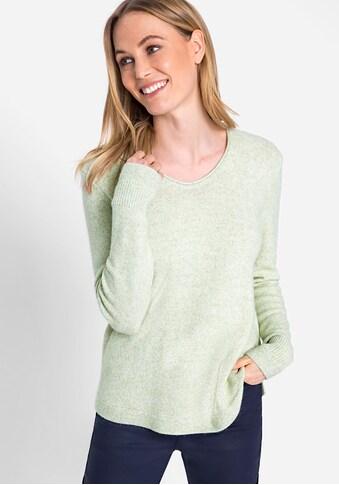 Olsen V-Ausschnitt-Pullover, aus kuschelweichem Strick kaufen