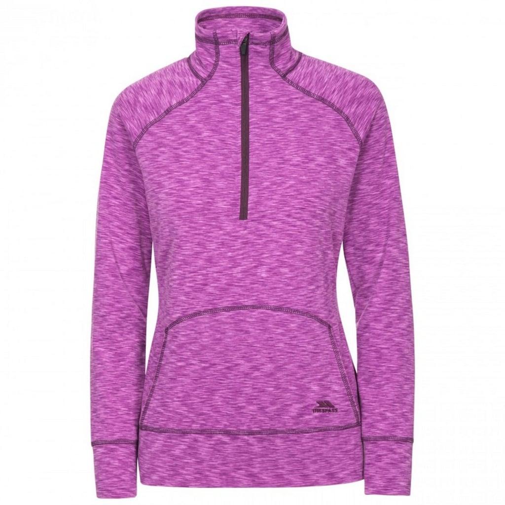 Trespass Fleeceshirt »Damen Moxie Fleece-Top mit Reißverschluss bis zur Brust«
