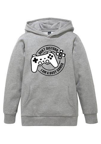 Arizona Kapuzensweatshirt »BUSY GAMER« kaufen