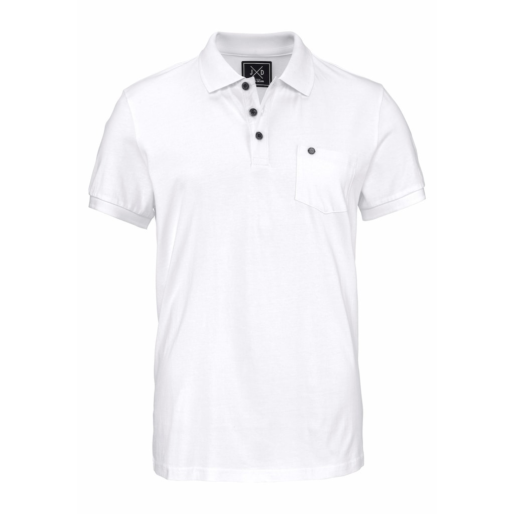 John Devin Poloshirt, mit Brusttasche