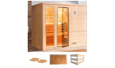 weka Sauna »Bergen 3«, ohne Ofen kaufen