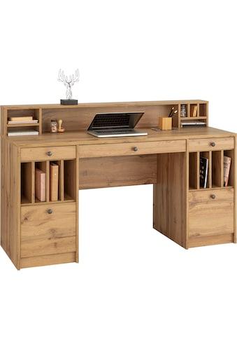 """Places of Style Schreibtisch »Licia«, Schreibtisch """"Licia"""" Große Arbeitsplatte mit viel Ablagefläche kaufen"""